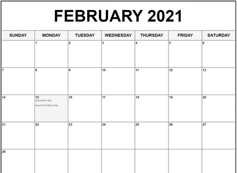 February 2021 Chinese Calendar