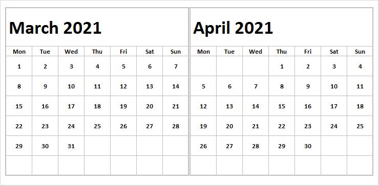 April 2021 Calendar With Australia Holidays