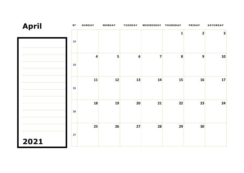Calendar February 2021 Printable Australia