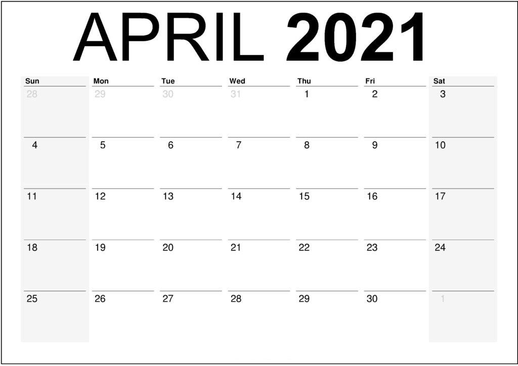 Calendar February 2021 Printable Blank