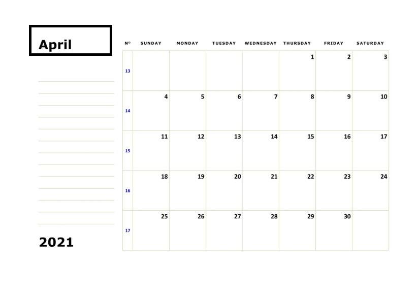 Calendar February 2021 Printable Canada