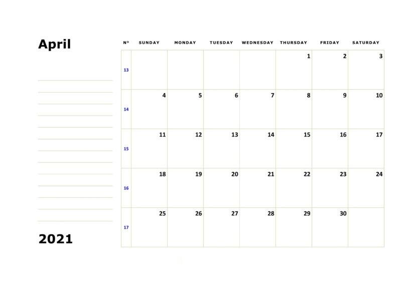 Calendar February 2021 Printable for USA