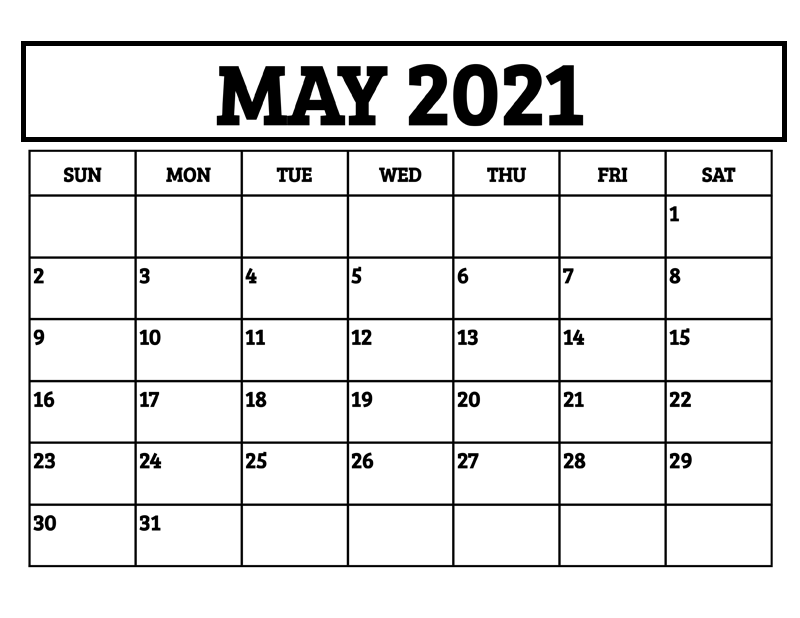 May 2021 Calendar with Holidays Philippines