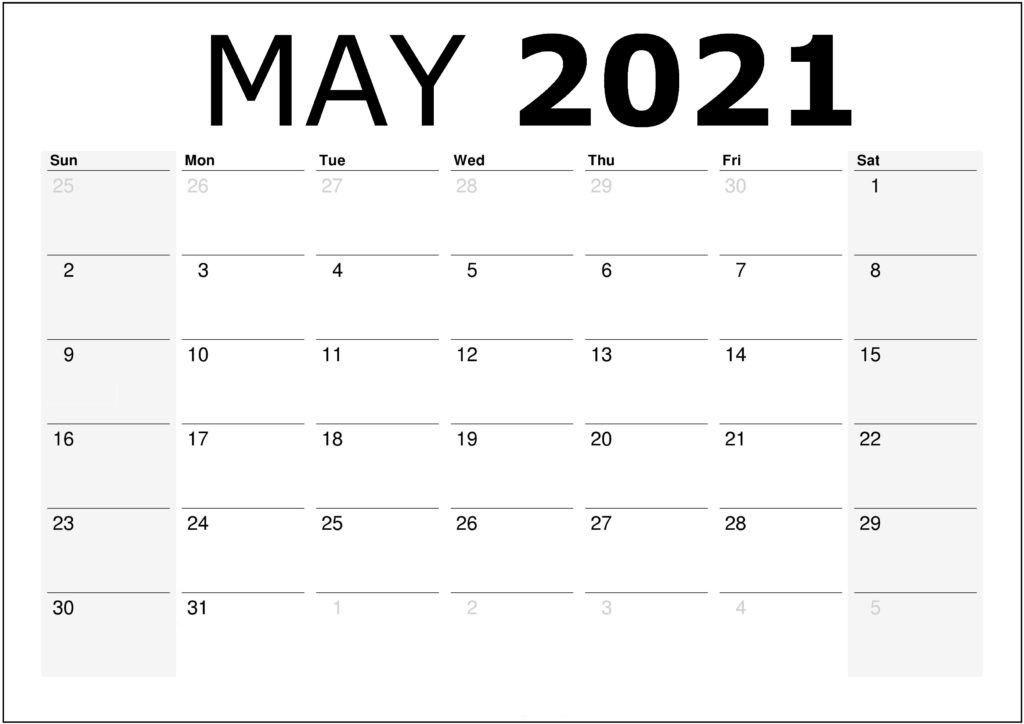 May 2021 Telugu Calendar