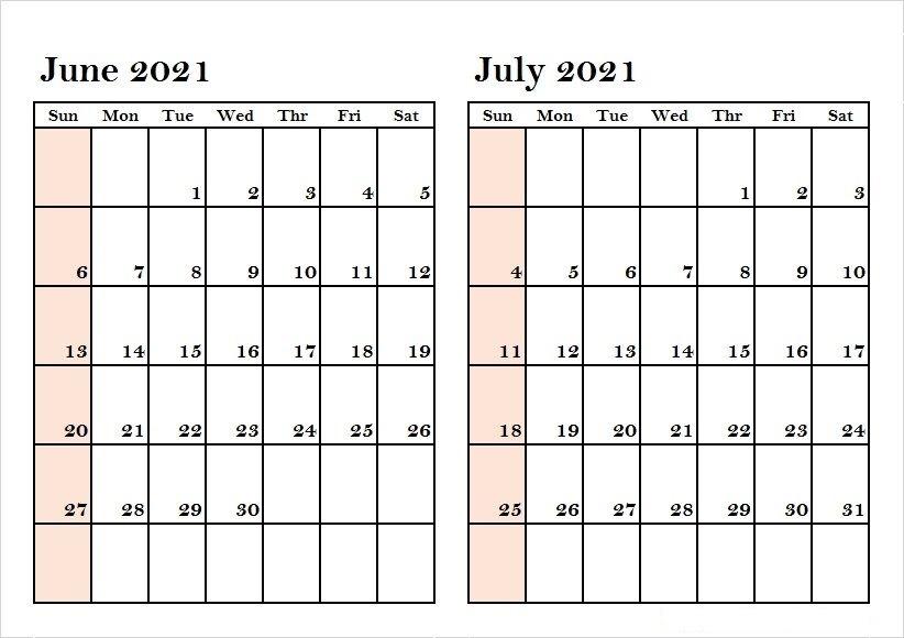 2021 July Calendar Tamil