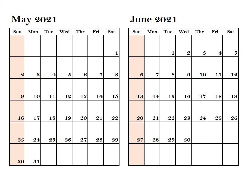 2021 June Calendar Srilanka