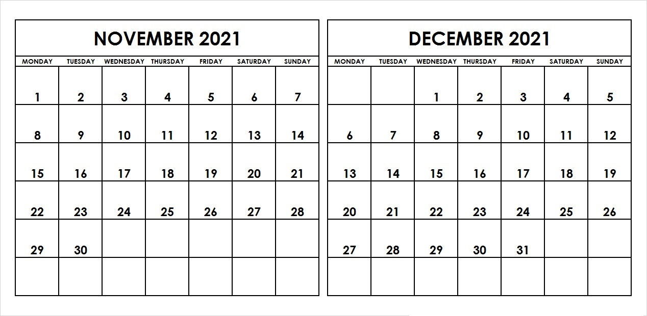 2021 November Hindu Calendar