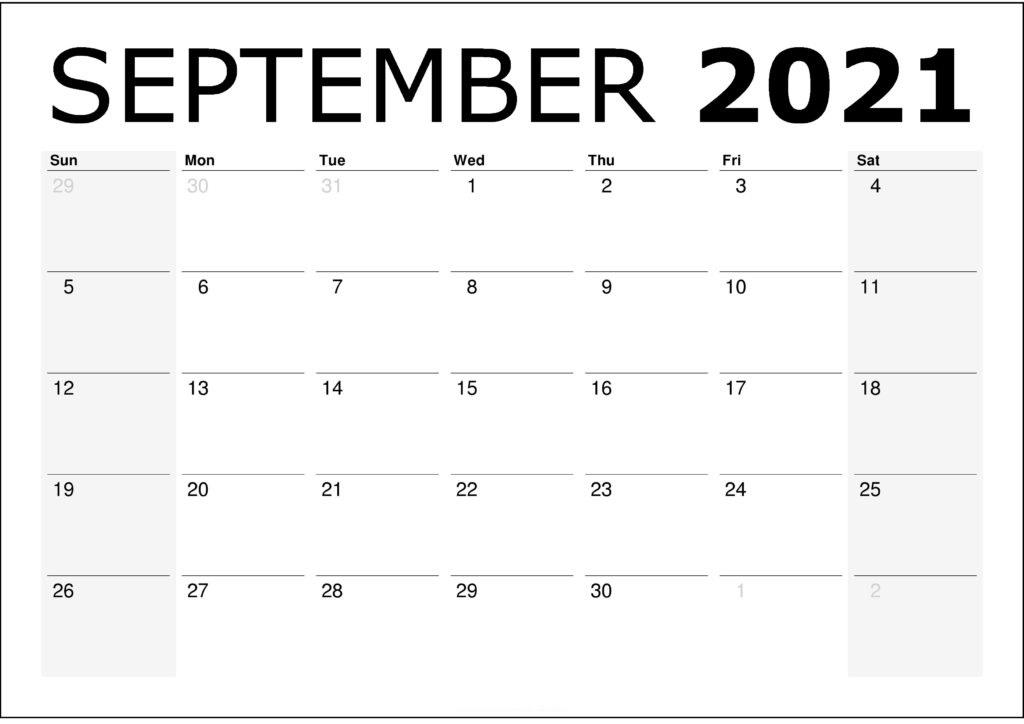 2021 September Calendar Malayalam