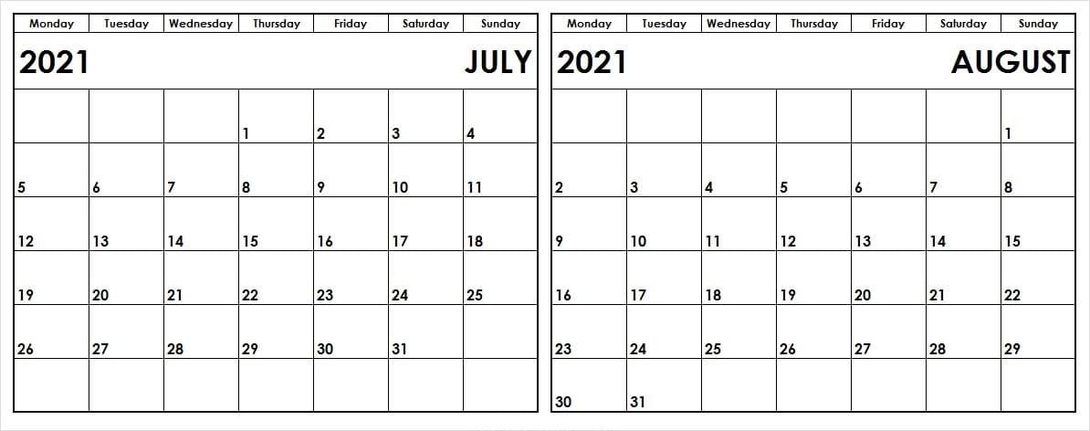 August 2021 Calendar With Holidays Australia