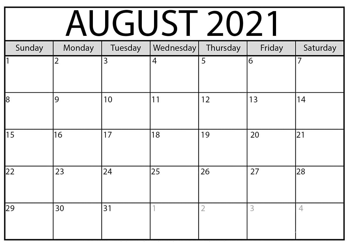 August 2021 Calendar With Holidays UK