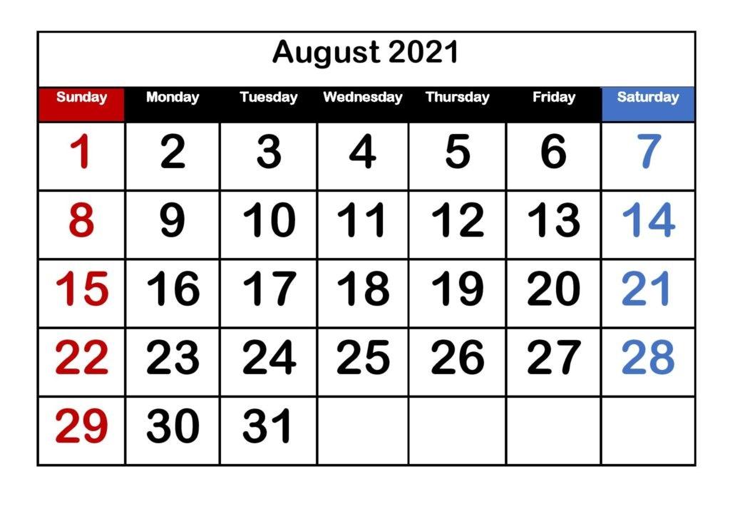 August 2021 Calendar With Holidays United Kingdom