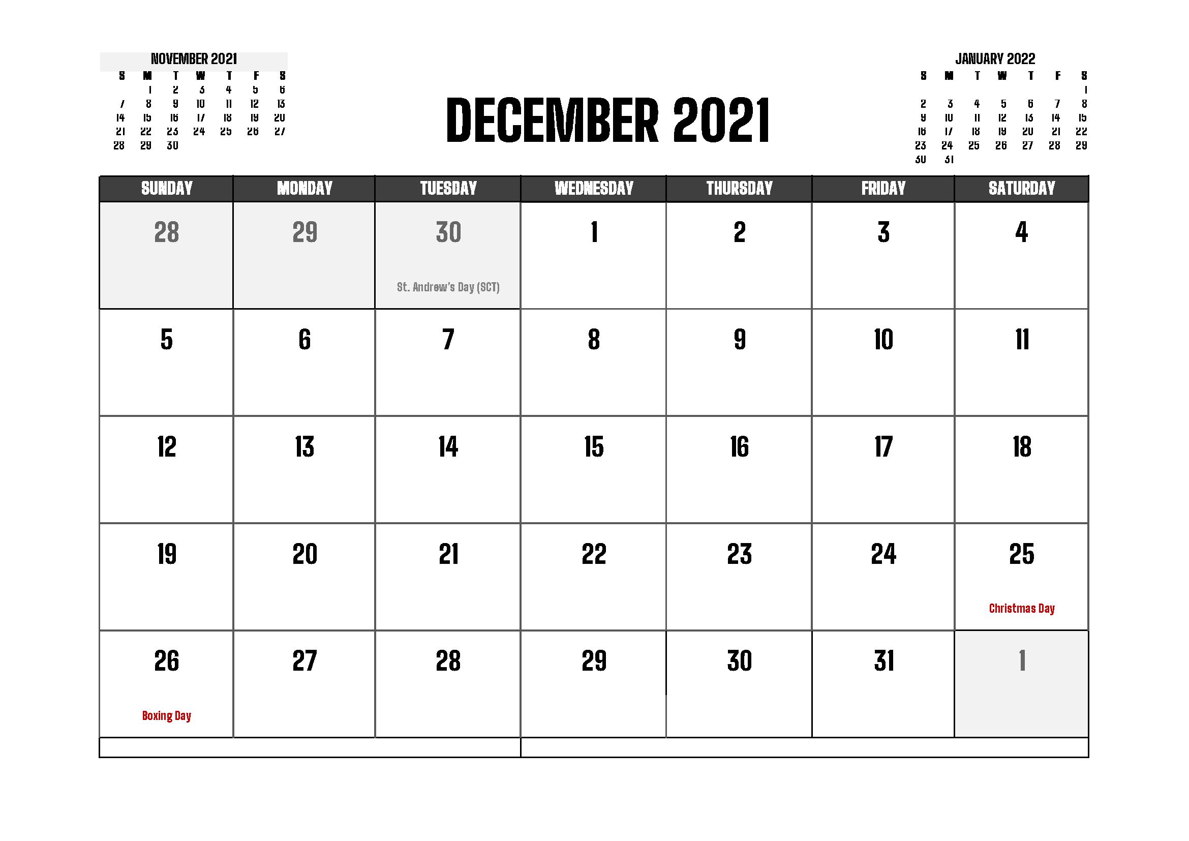 December 2021 Calendar Gujarati