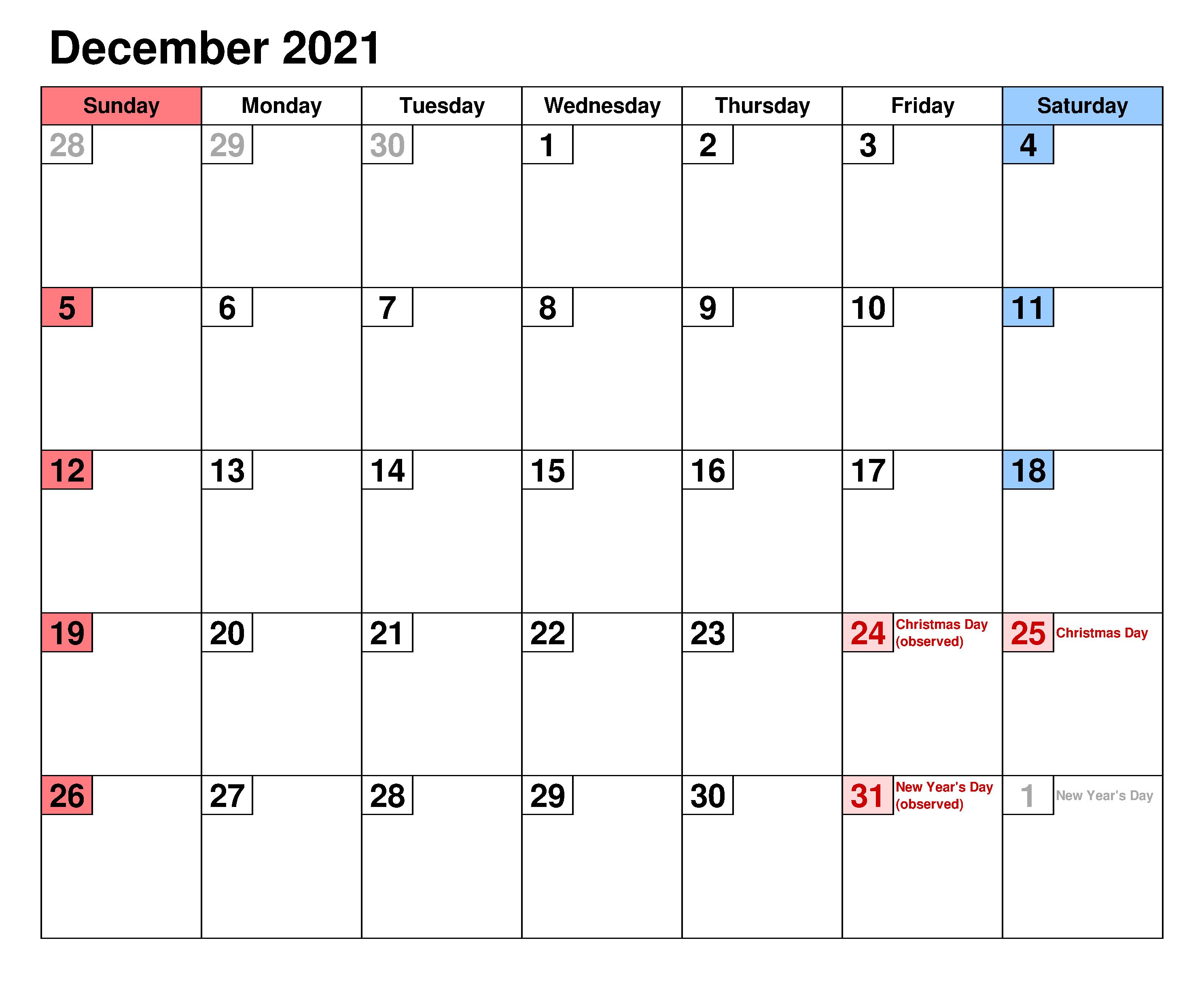 December 2021 Calendar Tamil