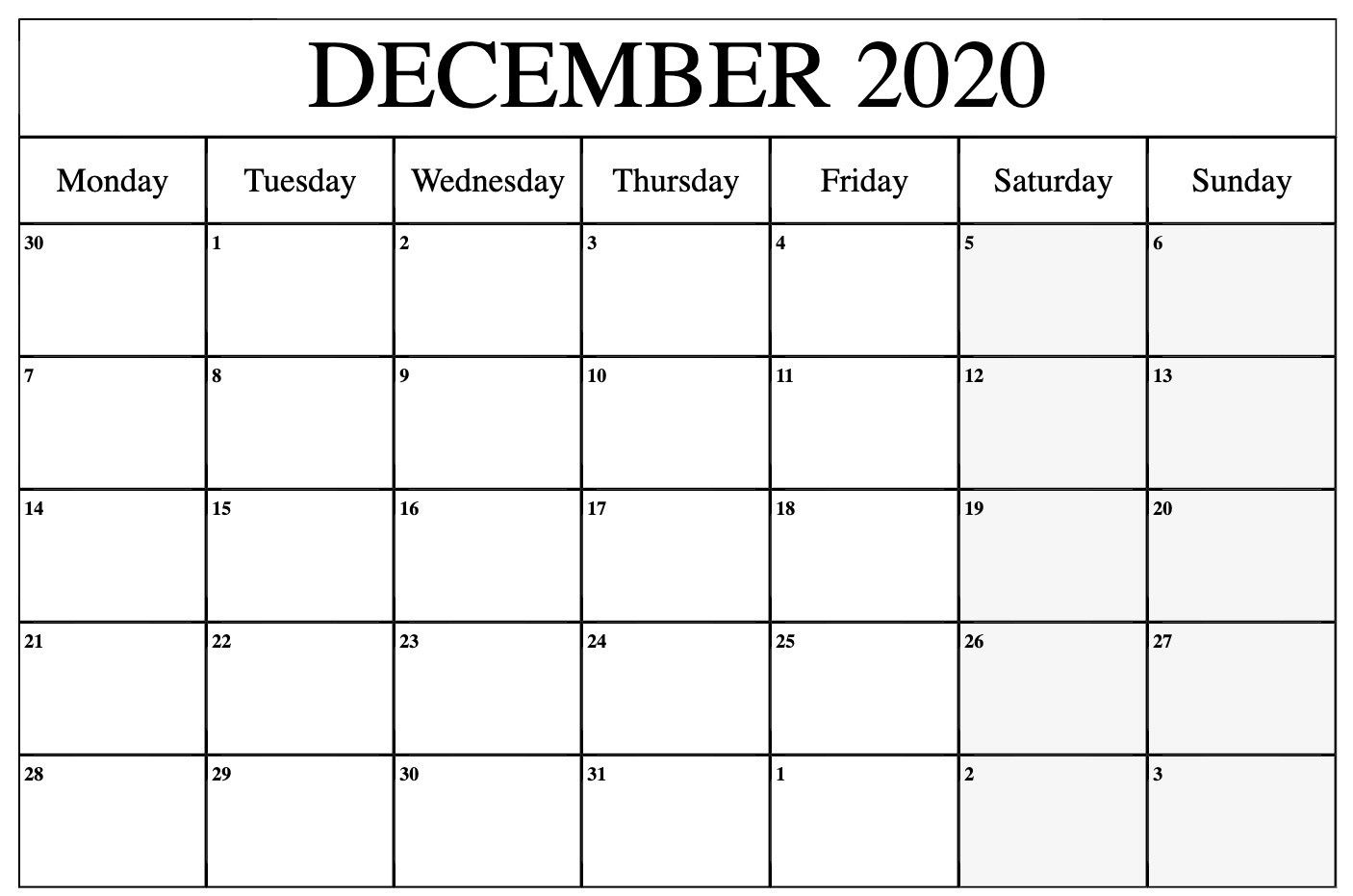 December 2021 Calendar With Holidays India