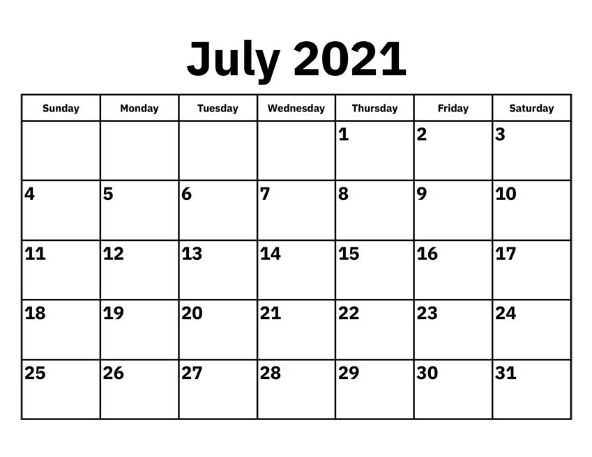 July 2021 Calendar Telugu