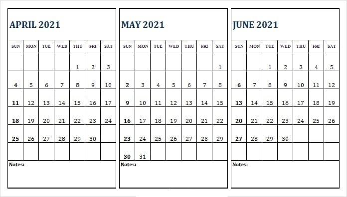 June 2021 Printable Calendar Waterproof