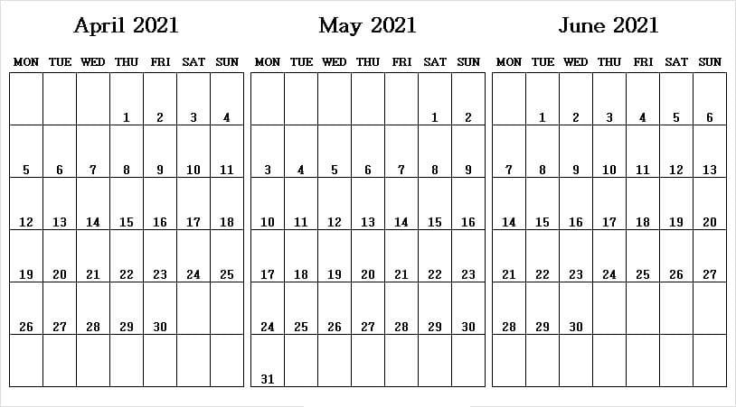 June 2021 Printable Calendar Wiki