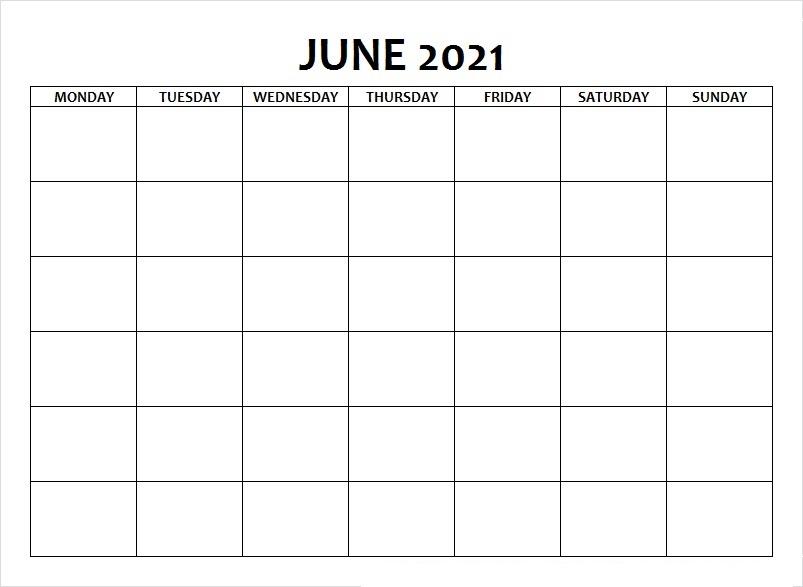 June Calendar 2021 Odia