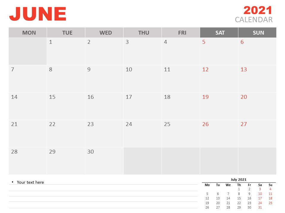 June Calendar 2021 Tamil