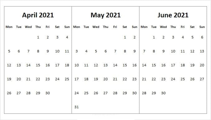 June Calendar 2021 Telugu