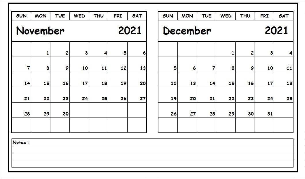 November 2021 Calendar With Holidays India