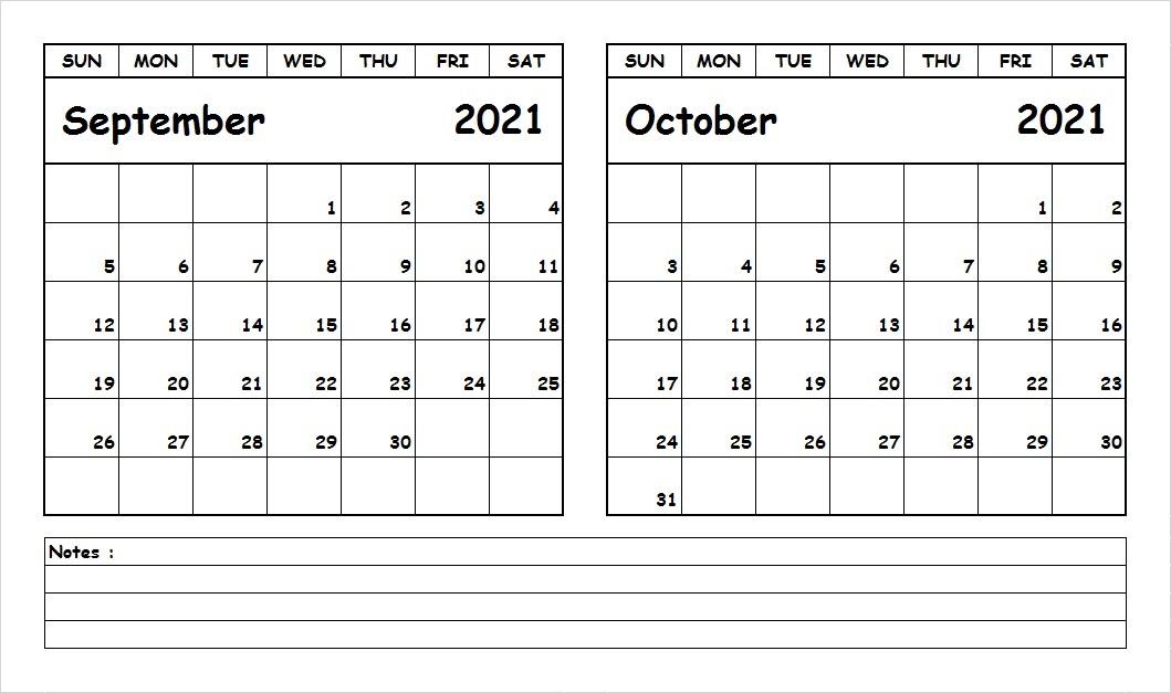 October 2021 Calendar With School Holidays