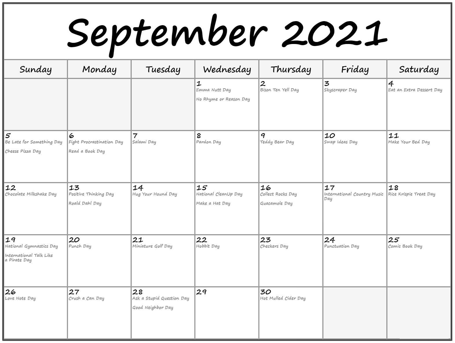 September 2021 Calendar Tamil