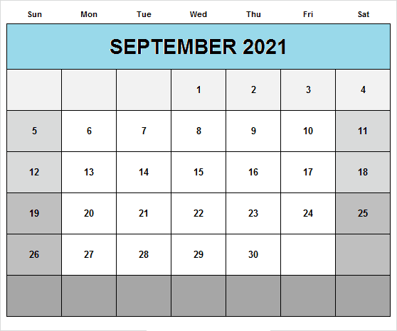 September 2021 Calendar With Holidays Philippines