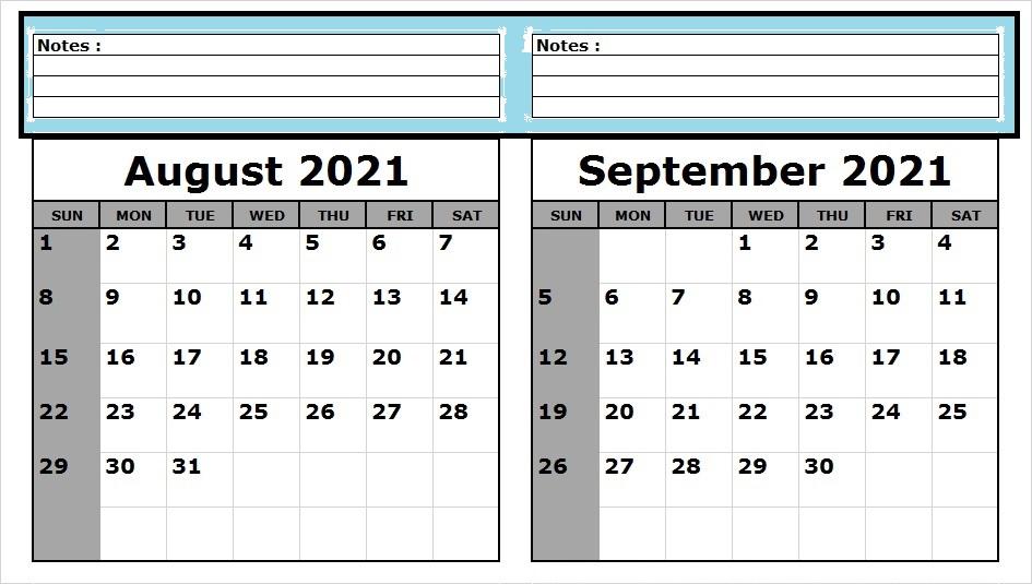 September 2021 Calendar With Holidays USA