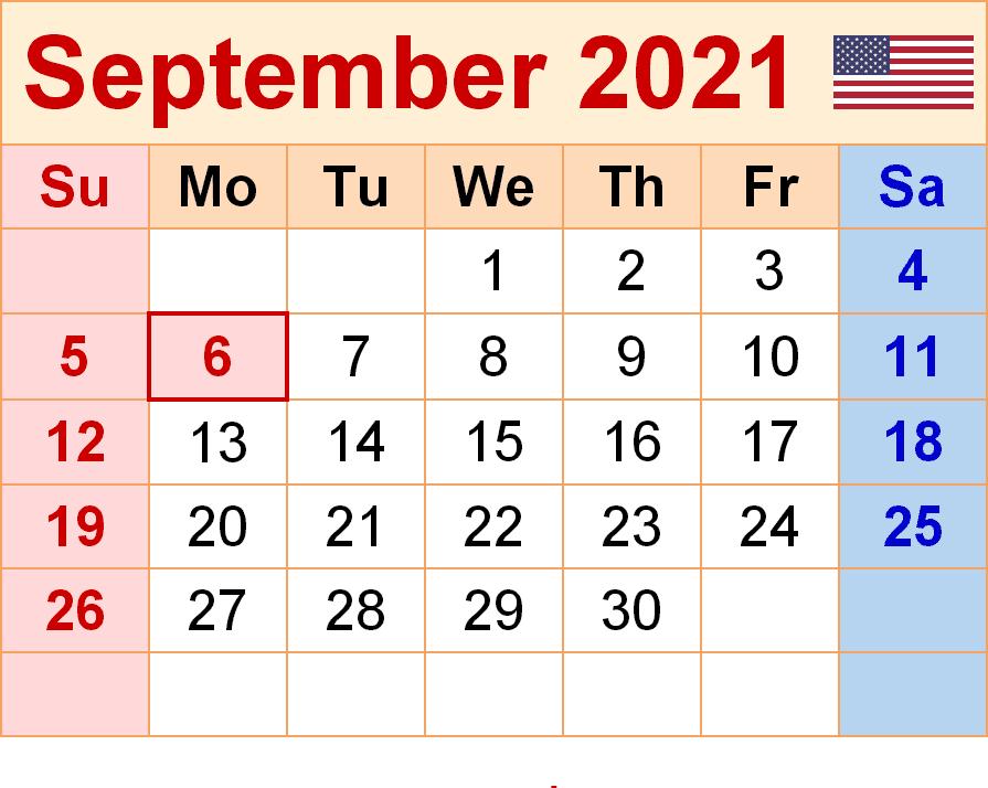 September 2021 Calendar With Jewish Holidays