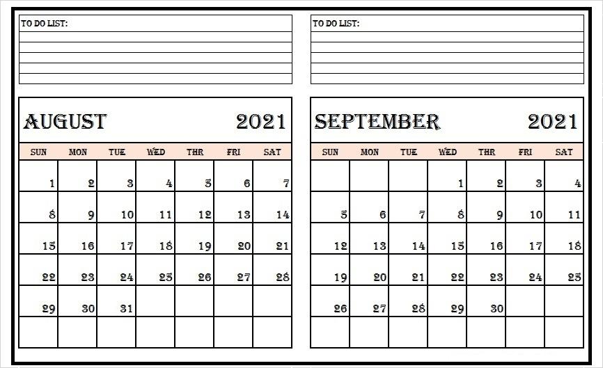 September Calendar 2021 Wiki