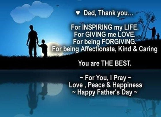 Happy Father's Day Image with Quotes