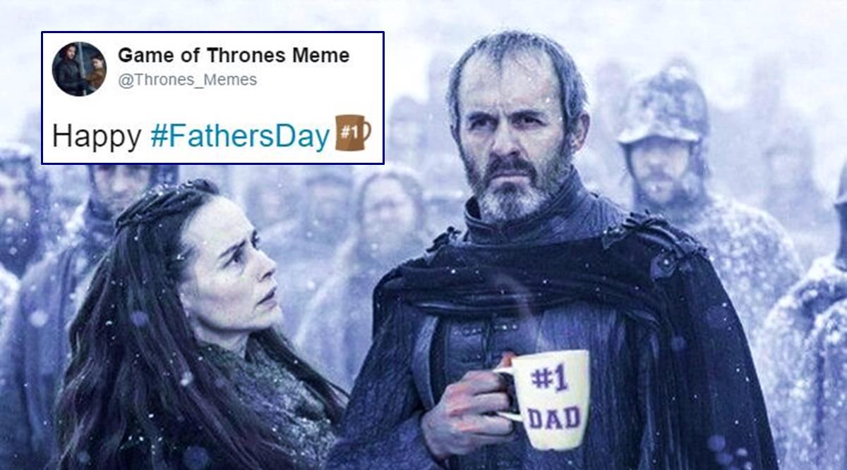 Happy Father's Day Meme Black
