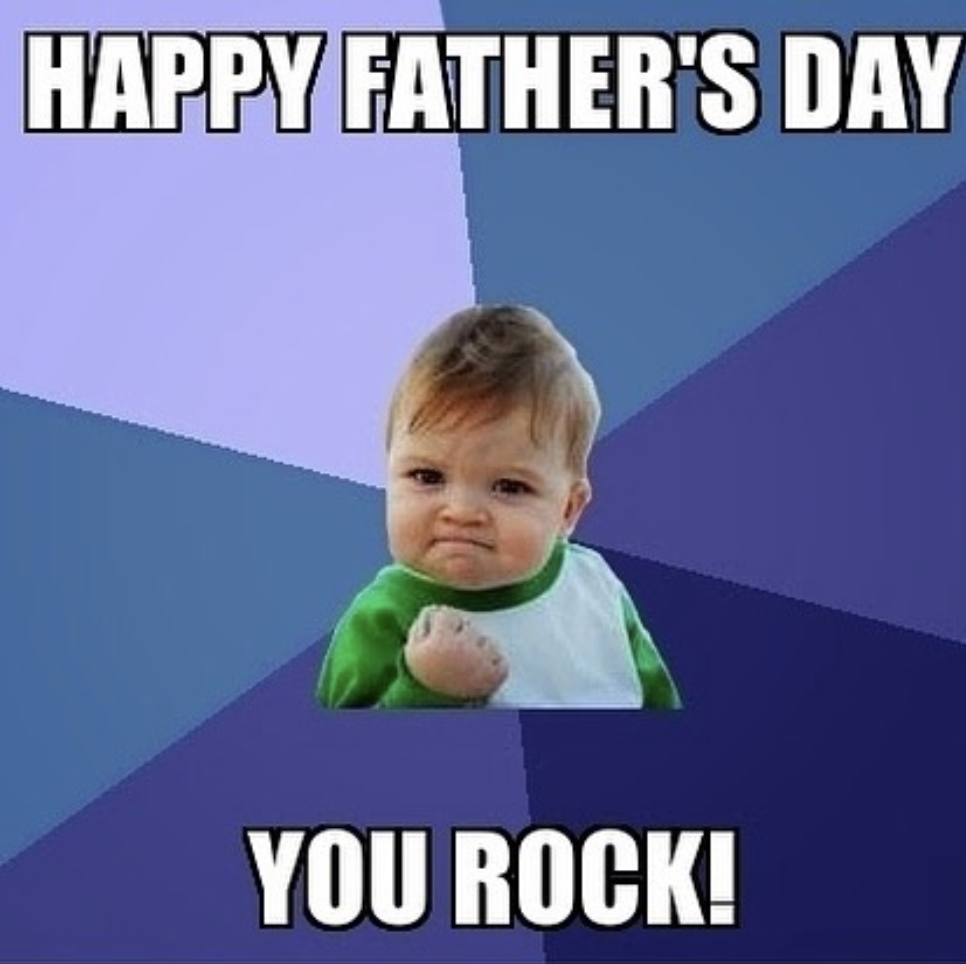 Happy Father's Day Meme for Son