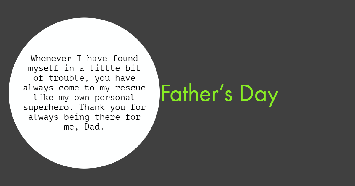 Happy Father's Day Quotes from Son
