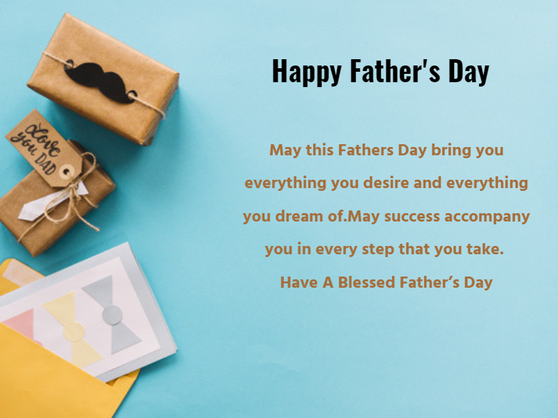Happy Father's Day Wishes in Hindi