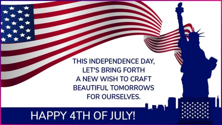 USA Happy Independence Day Wishes