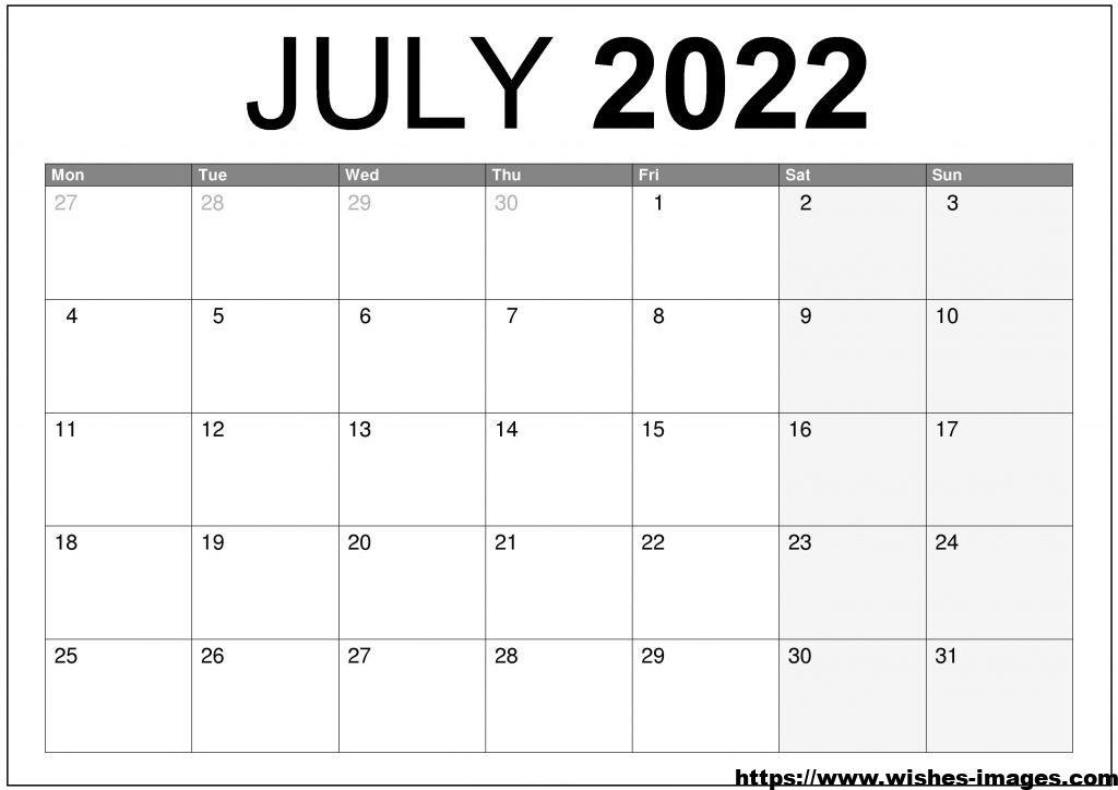 2022 Calendar Australia Printable