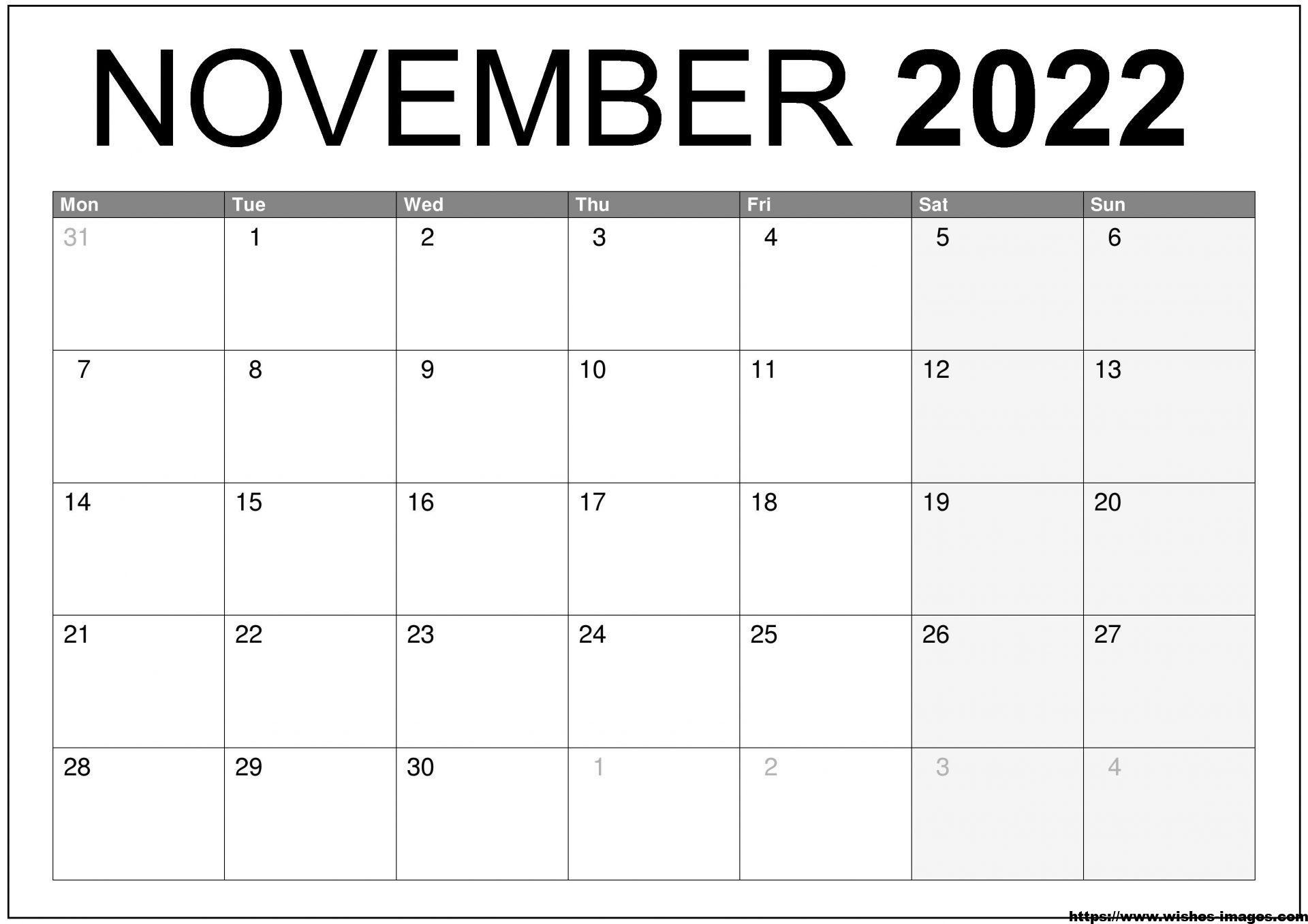 2022 Calendar Printable Wiki