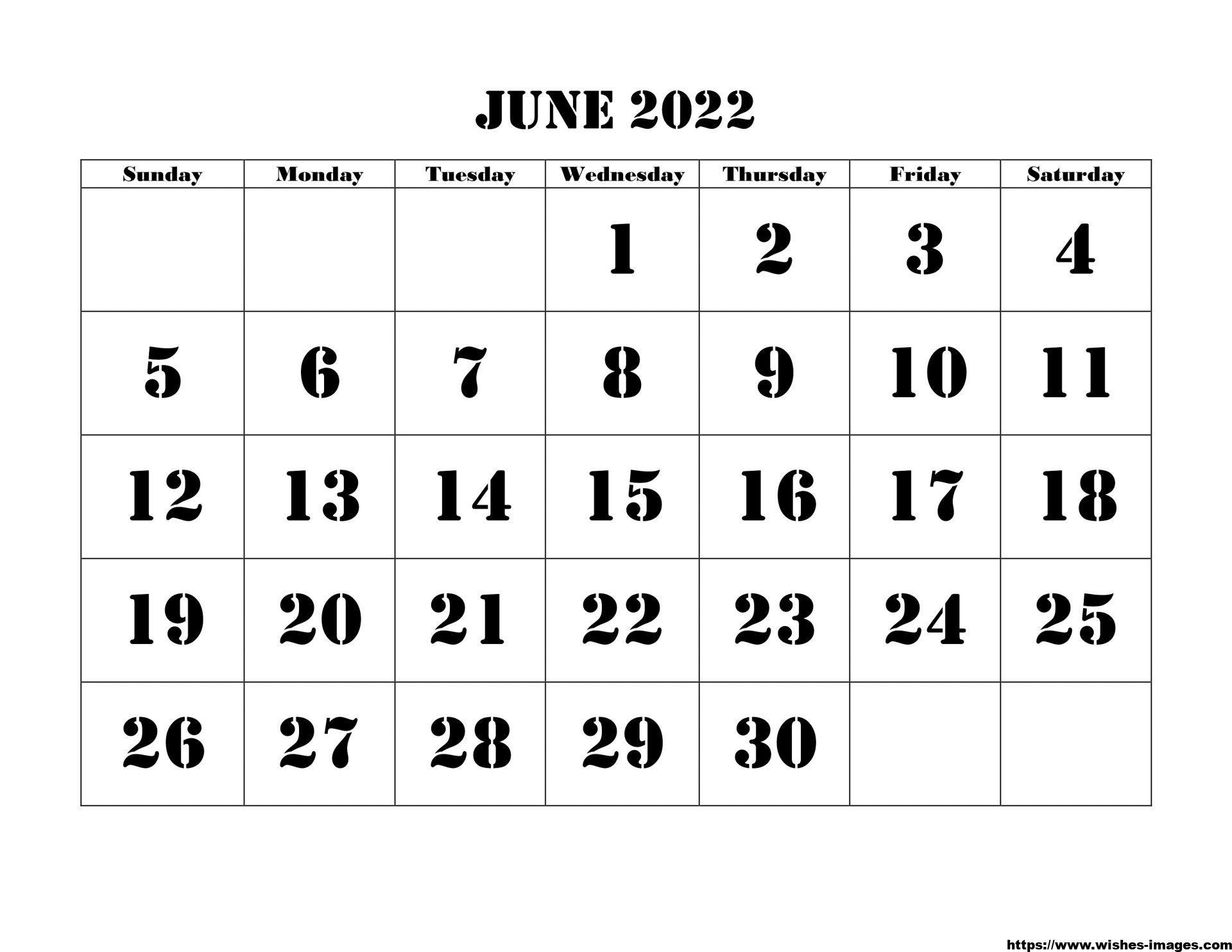 2022 Monthly Calendar Planner