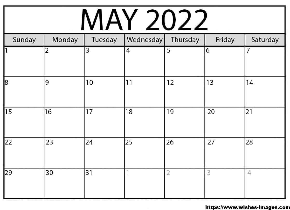 2022 Photo Calendar Template
