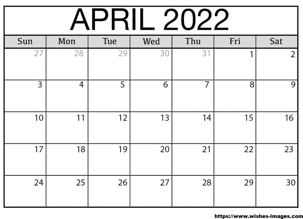 2022 Printable Calendar One Page with Holidays